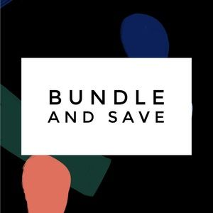 Make a bundle to save on shipping and more!